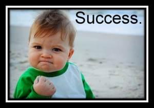 Success. Have it.